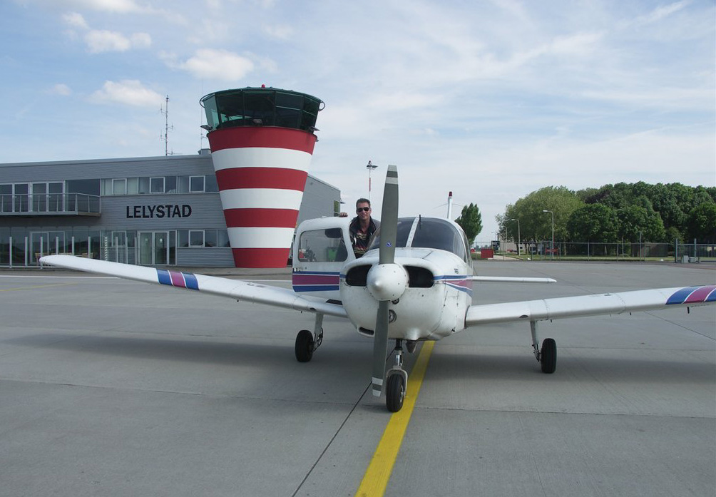 03 In front of Lelystad tower